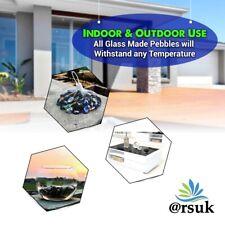 Glass Decorative Pebbles Mosaic Gravel Marbles Vase Nuggets Stones Beads 20mm
