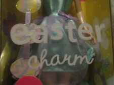 New Easter Charm Barbie New In Box 2001 Special Edition Collectible Egg Bracelet