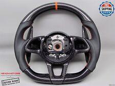 McLaren MP4-12C 650S 540C 570S 675LT 600LT 8mm Orange Napa Carbon Steering Wheel