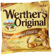 NEW SEALED WERTHER'S ORIGINAL CREAMY CARAMEL FILLED HARD CANDIES 5.5 OZ