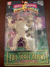 New listing Power Rangers Bandaii 1994 Evil Space Aliens Eye Popping Eye Guy H2