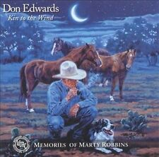 1 CENT CD Kin To The Wind Memories Of Martin Robbins - Don Edwards