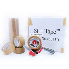 36X Brown 48mm 75m 52um Extra Heavy Duty Sticky Packing Tape FREE SYD METRO DEL