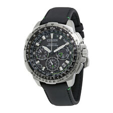 Citizen Promaster Navihawk Black Dial Mens Chronograph Watch CC9030-00E