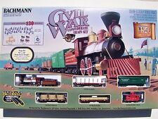 Bachmann Civil War-Confederate Steam Old Time Train Set  HO-Scale (130 Pieces)
