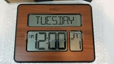 La Crosse Technology Atomic Digital Clock with Extra-Large Numbers 513-1419-Wav4