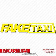 Fake Taxi Spaß Aufkleber 20x4 Car Auto Sticker OEM Fun Tuning Life