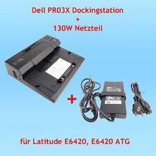 Dell PR03X Dockingstation + 130W Netzteil für Latitude E6420, E6420 ATG