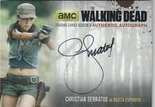 THE WALKING DEAD SEASON 4 PART 2 - CS2 CHRISTIAN SERRATOS (ROSITA) AUTOGRAPH (3)