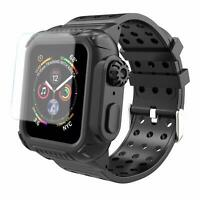 For Apple Watch Series 5 4 Armor Case Band 44mm Rugged Full Body Protective Case