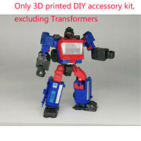 For TRANSFORMERS 3D DIY replenish upgrade KIT FOR SIEGE Crosshair