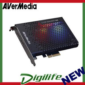 AVerMedia GC573 Live Gamer 4K RGB PCI-E Capture Card, Record 4K HDR @ 60 FPS