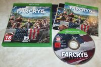 Far Cry 5 With Case for Xbox One Fast Shipping!