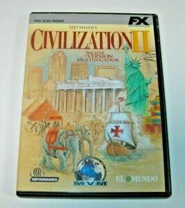 Sid Meier´s Civilization II PC edición española muy buen estado