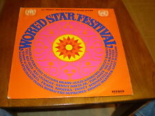 World Star Festival LP Various FRANCE