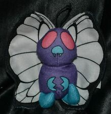 "5"" Butterfree # 12 Pokemon Plush Dolls Toys Stuffed Animal Butterfly Burger King"