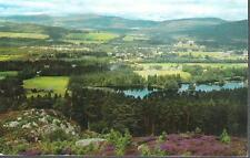 Aboyne, Aberdeenshire - from south - postcard, local 1968 pmk