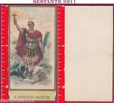 2819 SANTINO HOLY CARD S. ESPEDITO SANT'ESPEDITO MARTIRE