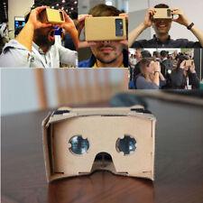 DIY Google Karton 3D Brille Bausatz VR Smart Virtual Reality Brille Geschenk #x