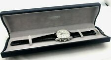 LONGINES Weems L2.622.4 Automatic Chronograph 40mm Original Box Stainless Steel