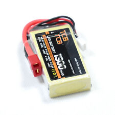 7.4V/2S 1300mAh 25C Upgrade LiPO Battery deans plug Burst 50C RC model Lipolymer