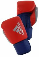 Sale Adidas Hybrid 200 Boxing Gloves Leather Sparring 14oz Red