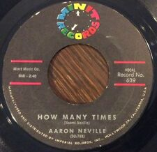 AARON NEVILLE How Many Times / I'm Waitin' At The Station 45 Soul, MINT Records