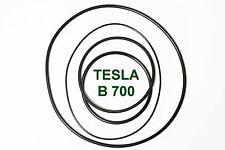 SET RIEMEN TESLA B 700 TONBANDMASCHINE EXTRA STRONG FABRICKFRISCH NEU B700 B-700