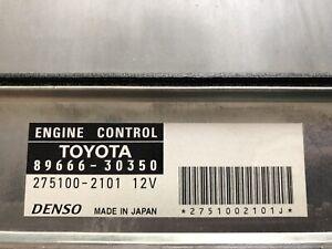 2006 Lexus GS300 RWD Engine Computer ECM ECU 89666-30350 275100-2101 dmgd