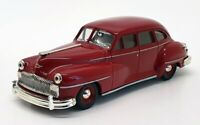 Matchbox 1/43 Scale Model Car DYG14-M - 1948 Desoto - Maroon