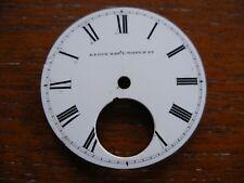 Reloj De Bolsillo Esmalte Antiguo Esfera Elgin Nacional