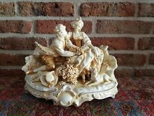 Vintage Original Romantic Capodimonte Figurines, large size