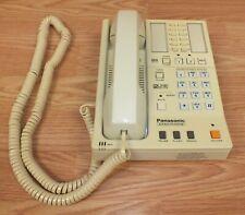 Vintage Panasonic (KX-T3130) 2 Line Corded Telephone System **READ**