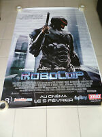 AFFICHE ROBOCOP 4x6 ft Bus Shelter Movie Poster Original 2014