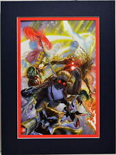 SDCC Exclusive GUARDIANS OF THE GALAXY PRINT PROFESSIONALLY MATTED Alex Ross art