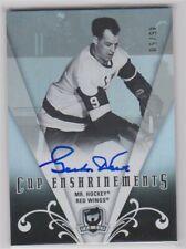 2007-08 The Cup Mr Hockey Gordie Howe Cup Enshrinements autograph /50