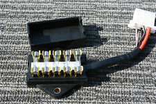 HONDA CB750F CB750A CB 750 Motorcycle LARGE type Fuse Box 3 fuse  w/spares
