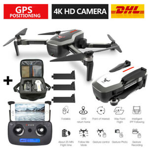 SG906 Brushless 4K Kamera RC Drohne 5G Wifi Optischer Fluss GPS Quadcopter Drone