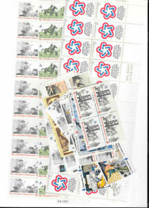 Christmas  Postage - 55c combinations of 3 stamps - Postage Face Value $55..