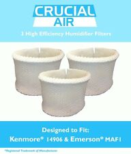 3 Kenmore 14906 & Emerson MAF1 Humidifier Wick Filters, Part # 42-14906 NEW
