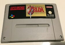 NINTENDO SNES The Legend of ZELDA A Link To The Past - Good Condition - Working