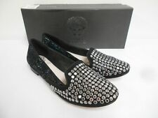 New shoes by Vince Camuto black suede leather flats 1.5cm heel 36 UK3