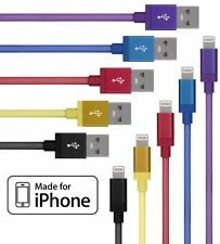 Certified Apple Lightning Data Cable Cord Charger for iPhone 5 6 6S 6Plus 7 iPad