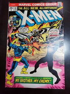 X-MEN #97 MY BROTHER, MY ENEMY!! 1976, Marvel Comic, Very Nice Copy