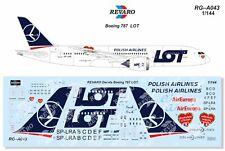 Revaro Decal LOT Polish Airlines Boeing 787 Zvezda, Revell 1/144