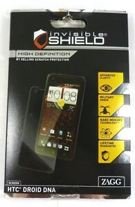 ZAGG INC - InvisibleSHIELD for HTC DROID DNA 4G LTE Mobile Phones