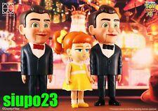 Herocross ~ HVS #028 GabbyGabby & Benson Red & Black Bow Tie 3pcs