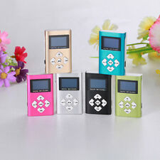 USB Mini 3.5mm stereo Jack MP3 Player LCD Screen Support 8GB Micro SD TF Card