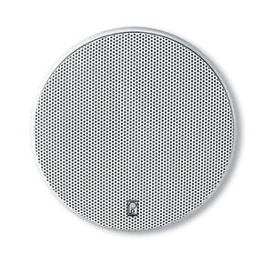 "PolyPlanar 6 1/2"" Platinum Round Marine Speaker - (Pair) White MA6600"
