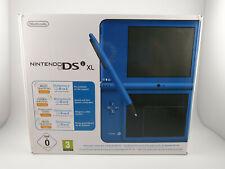 Nintendo DSi XL nuevo embalaje original!! sin usar! coleccionista rareza raramente azul New Sealed